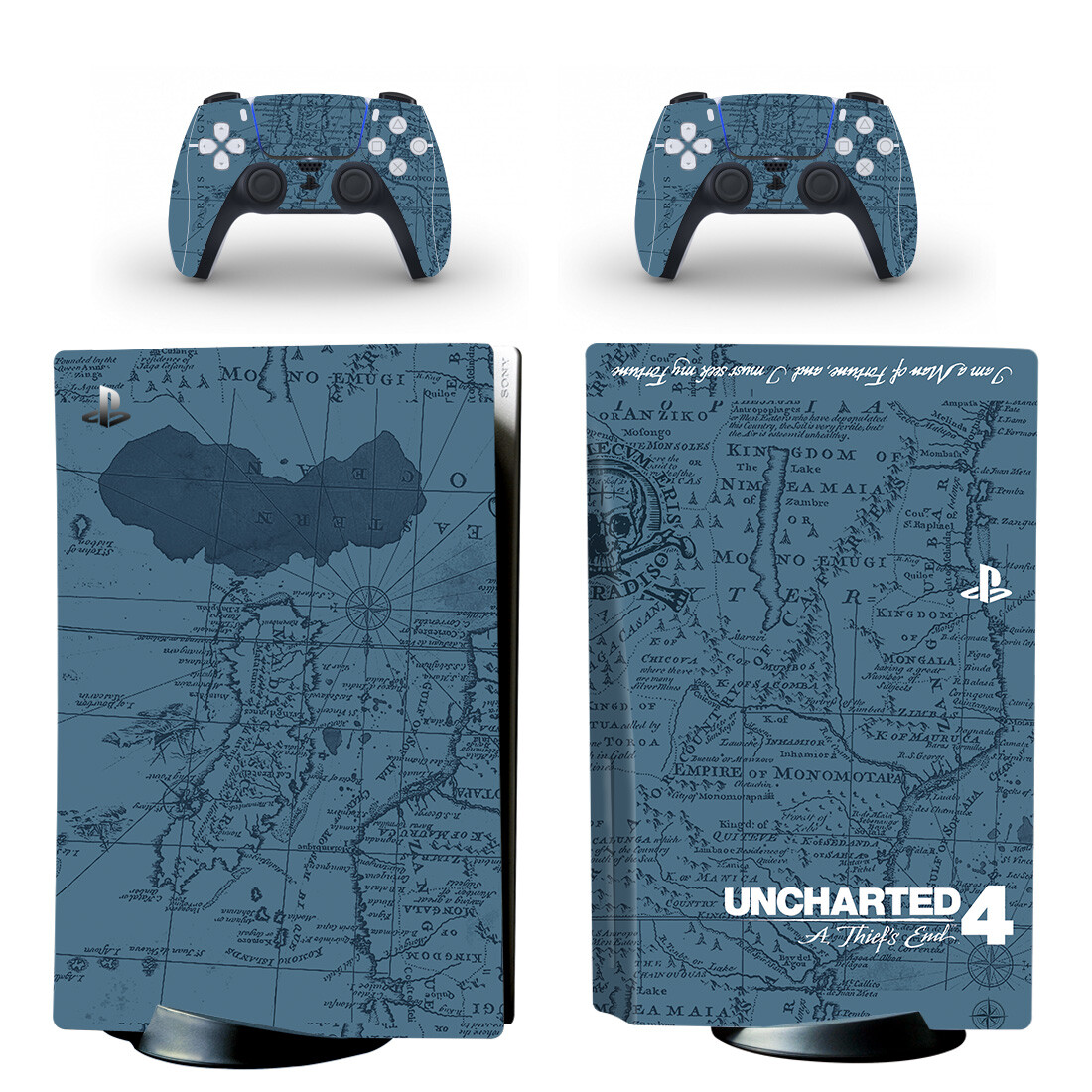 Uncharted 4 A Thief's End Skin Sticker For PS5 Skin And Controllers