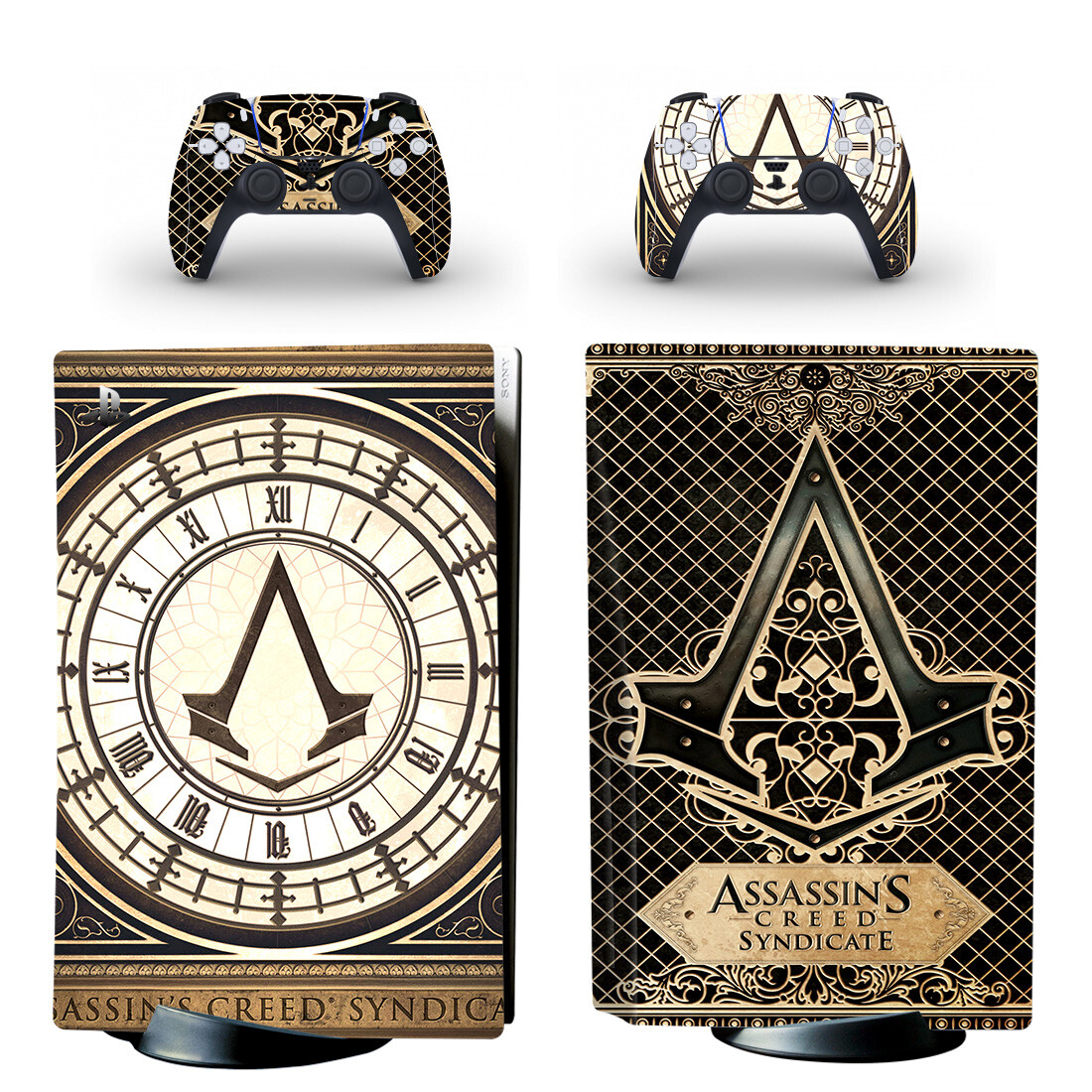 Assassin's Creed Syndicate Skin Sticker For PS5 Skin And Controllers