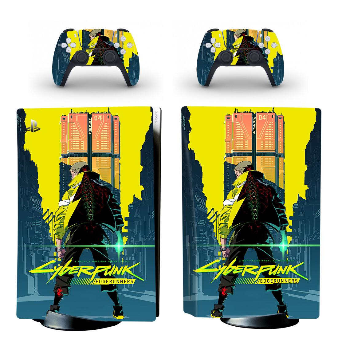 Cyberpunk 2077 Skin Sticker Decal For PlayStation 5 Design 16