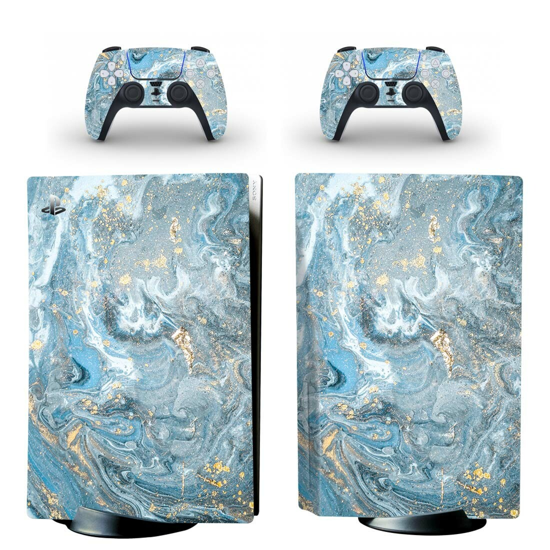 Abstract Marble Skin Sticker Decal For PlayStation 5