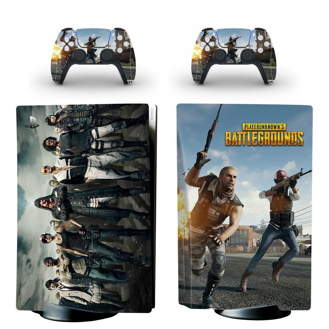 PlayerUnknown's Battlegrounds Skin Sticker Decal For PlayStation 5