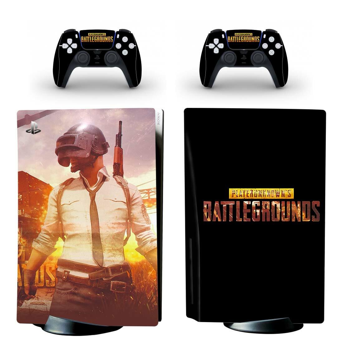 PlayerUnknown's Battlegrounds PS5 Skin Sticker Decal