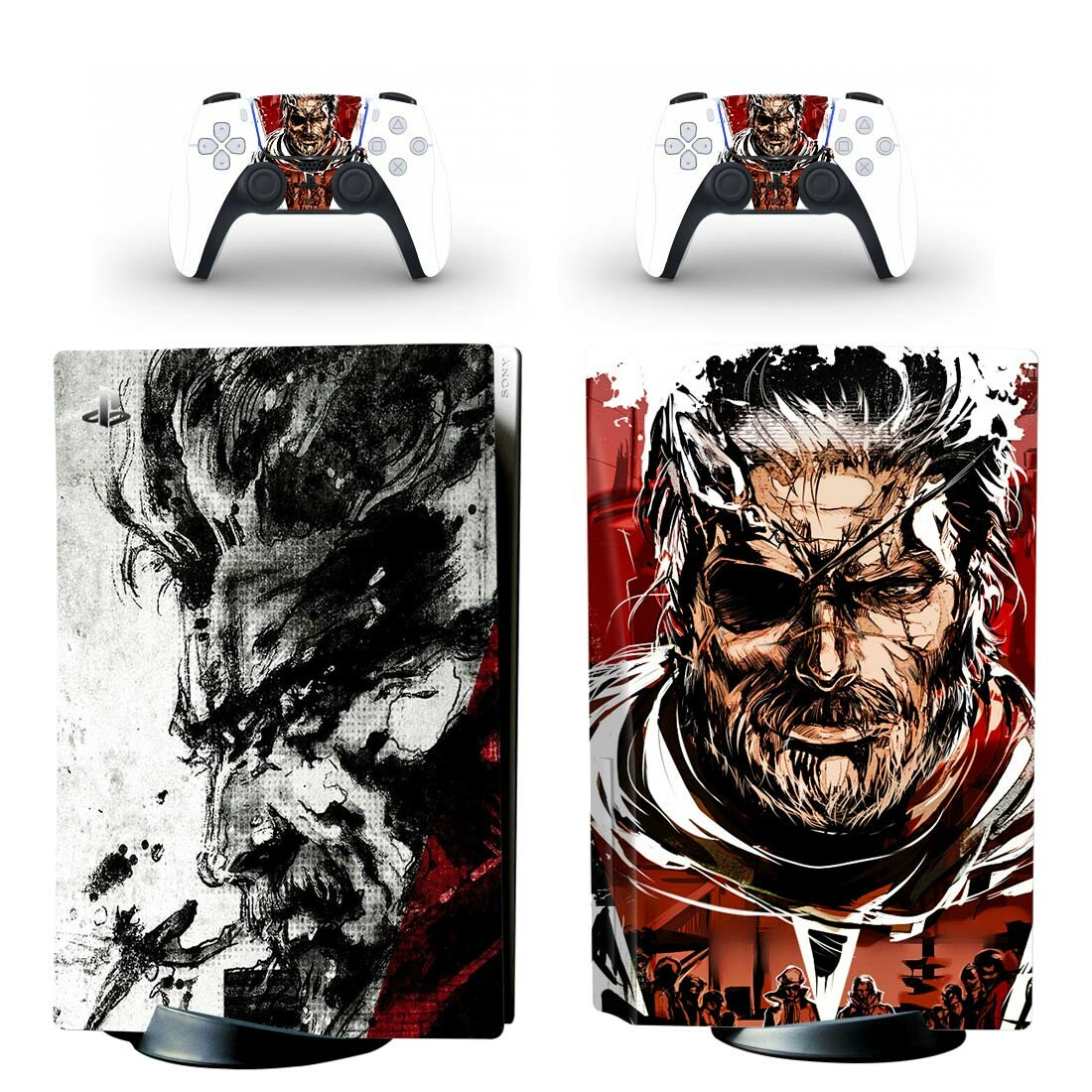 Metal Gear Solid Skin Sticker Decal For PlayStation 5