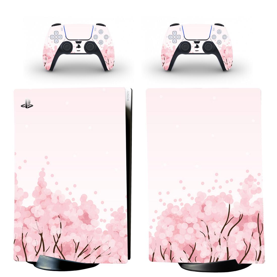 Sakura Haruno Cherry Blossom PS5 Digital Edition Skin Sticker Decal