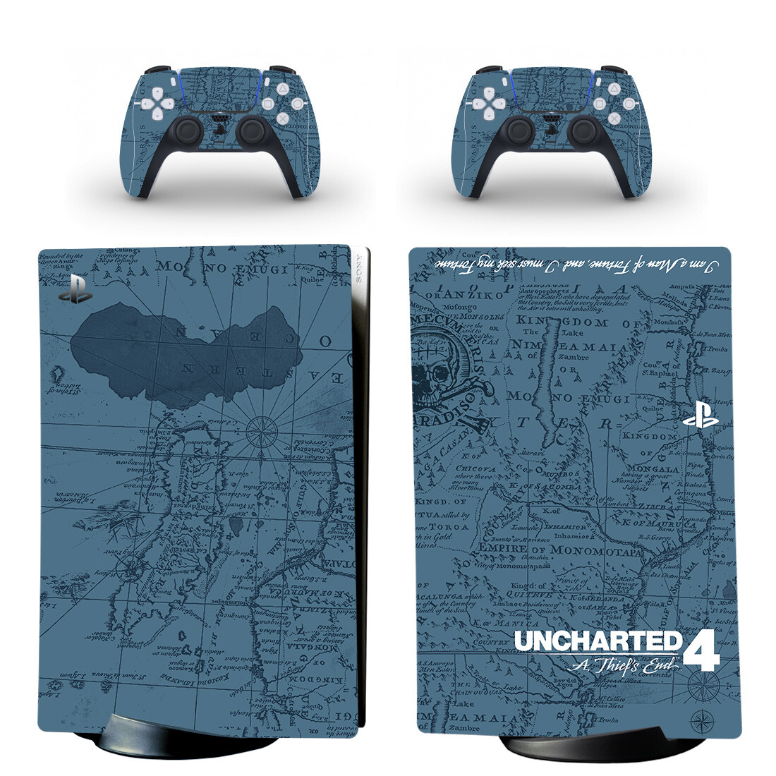 Uncharted 4 A Thief's End PS5 Digital Edition Skin Sticker Decal
