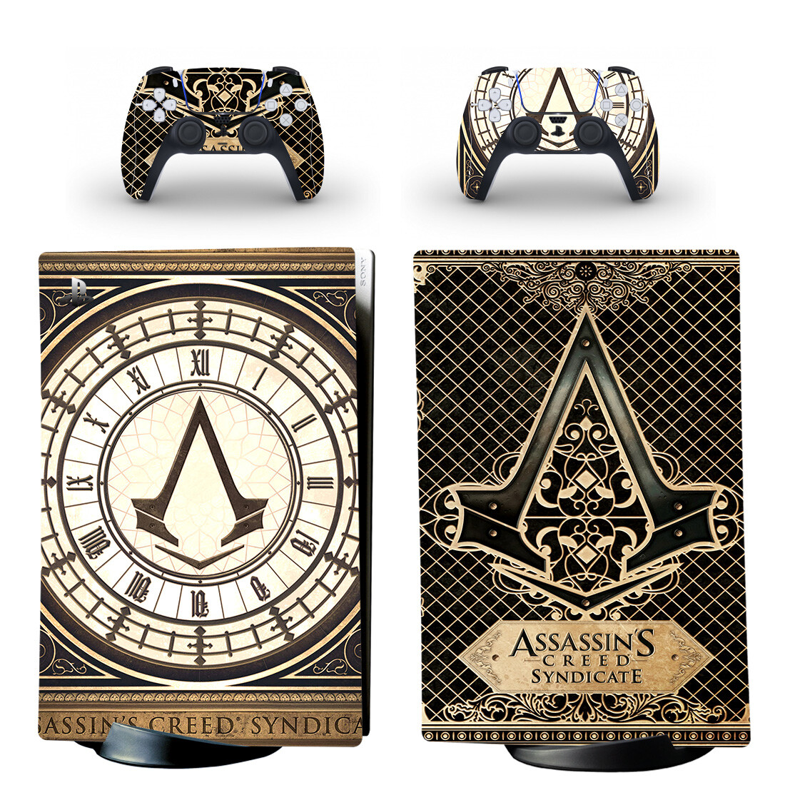 Assassin's Creed Syndicate PS5 Digital Edition Skin Sticker Decal