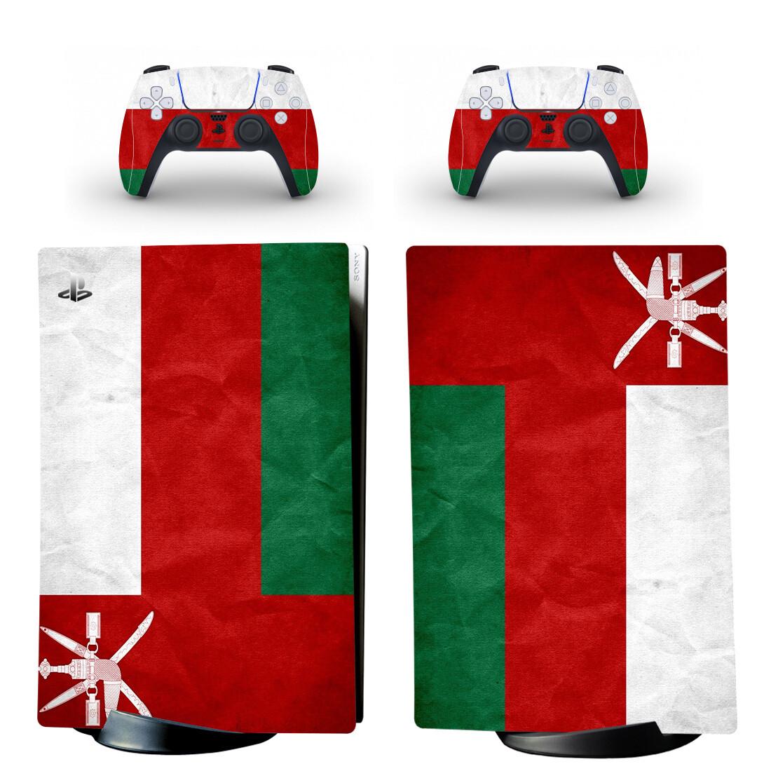 Flag Of Oman PS5 Digital Edition Skin Sticker Decal