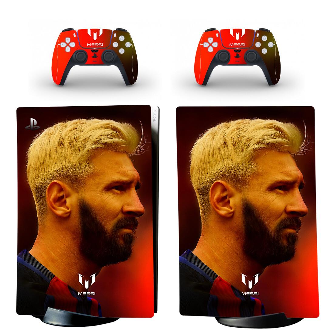 Lionel Messi PS5 Digital Edition Skin Sticker Decal