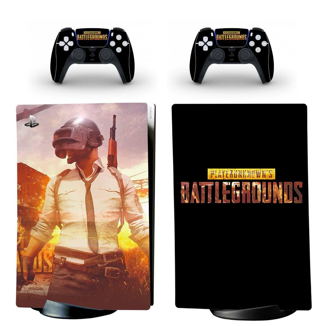 PlayerUnknown's Battlegrounds PS5 Digital Edition Skin Sticker Decal