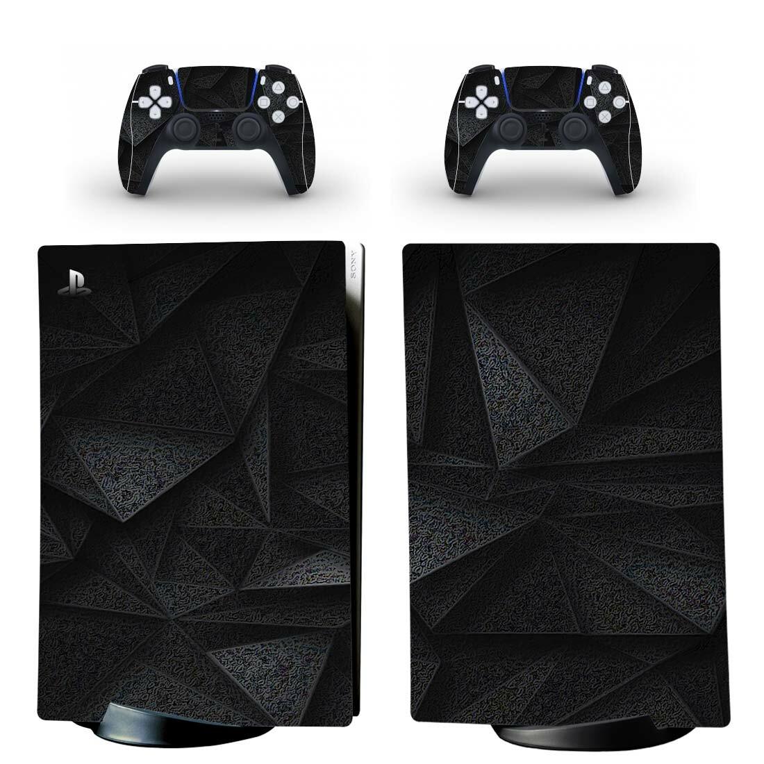 3D Black Diamond PS5 Digital Edition Skin Sticker Decal
