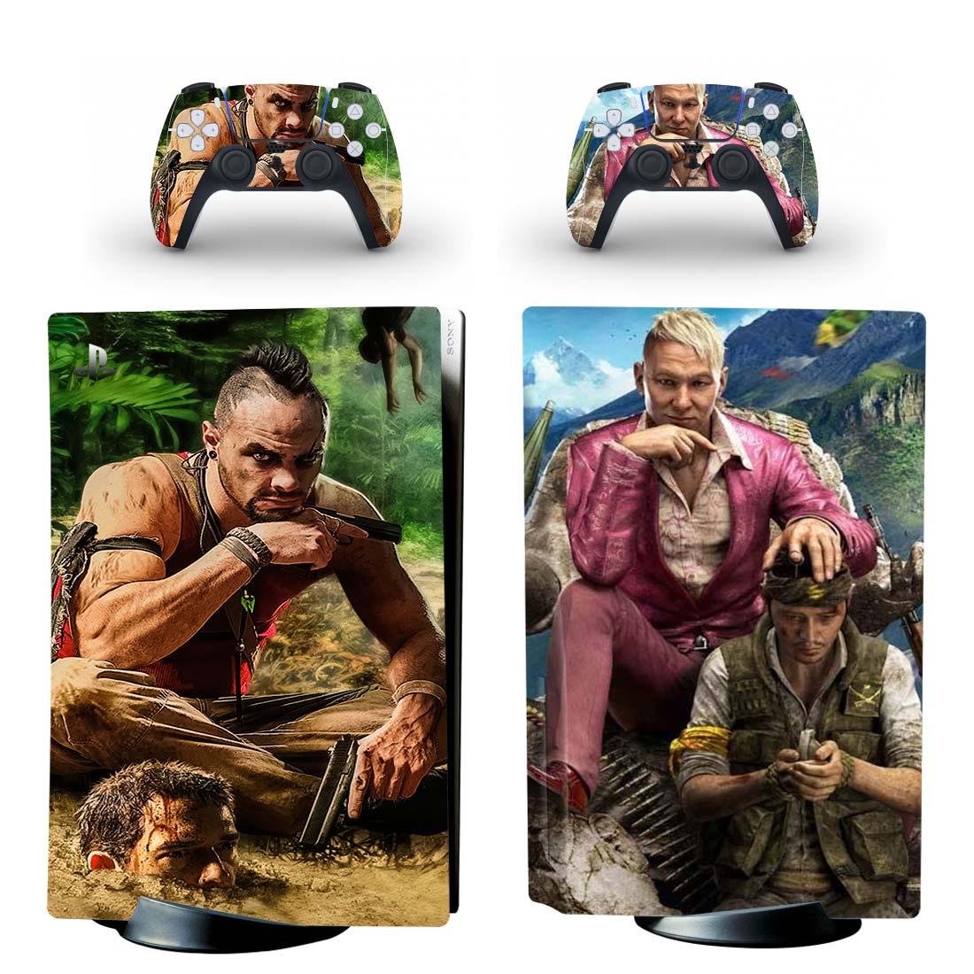 Far Cry 3 Vs Far Cry 4 Skin Sticker Decal For PlayStation 5