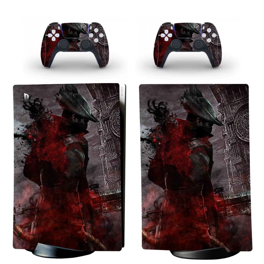 Bloodborne PS5 Digital Edition Skin Sticker Decal Design 1