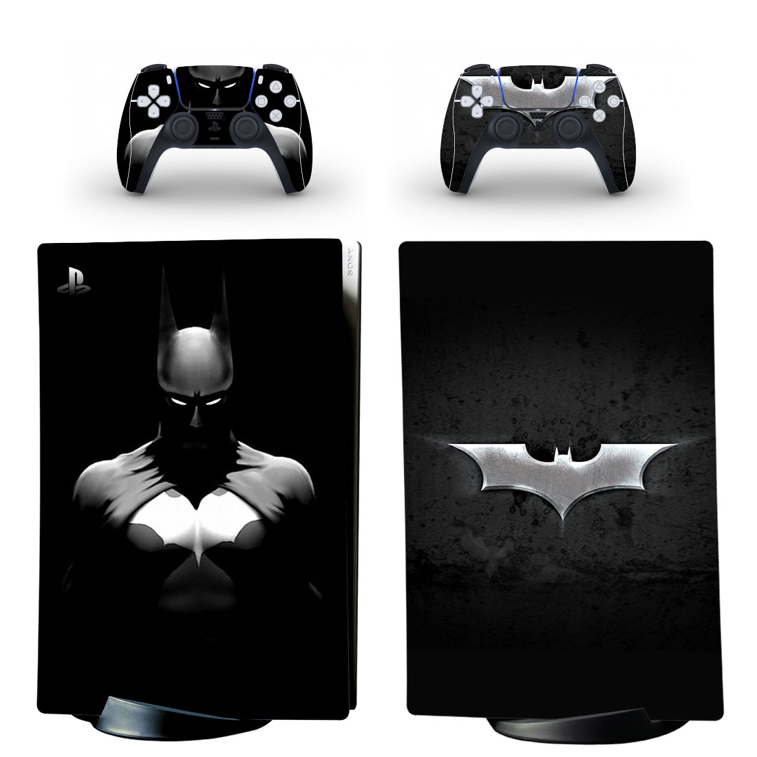 Batman PS5 Digital Edition Skin Sticker Decal Design 1