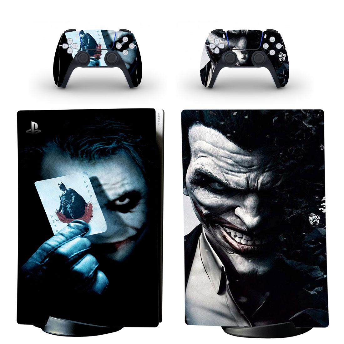 Joker PS5 Digital Edition Skin Sticker Decal Design 5