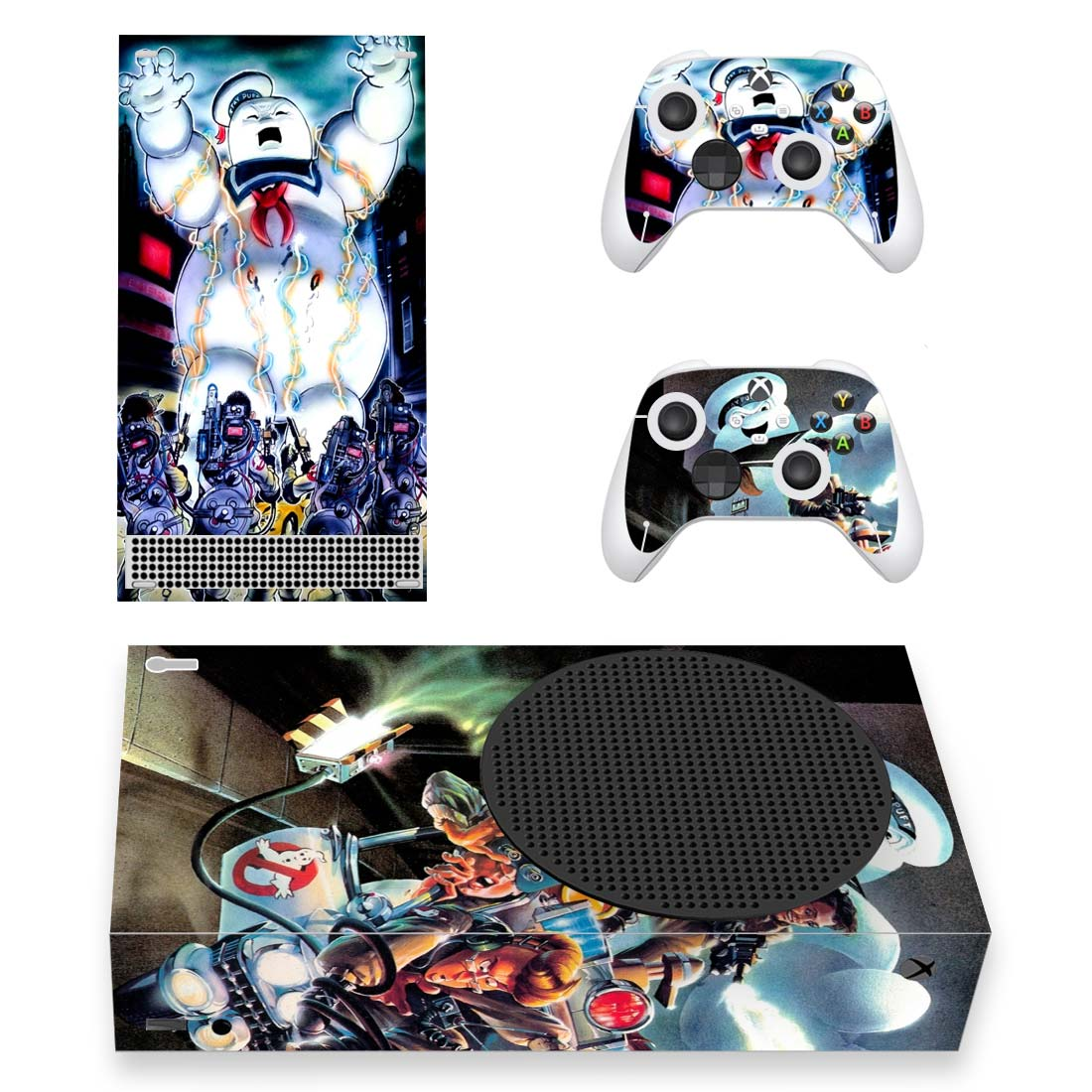 Stay Puft Marshmallow Man Skin Sticker Decal For Xbox Series S