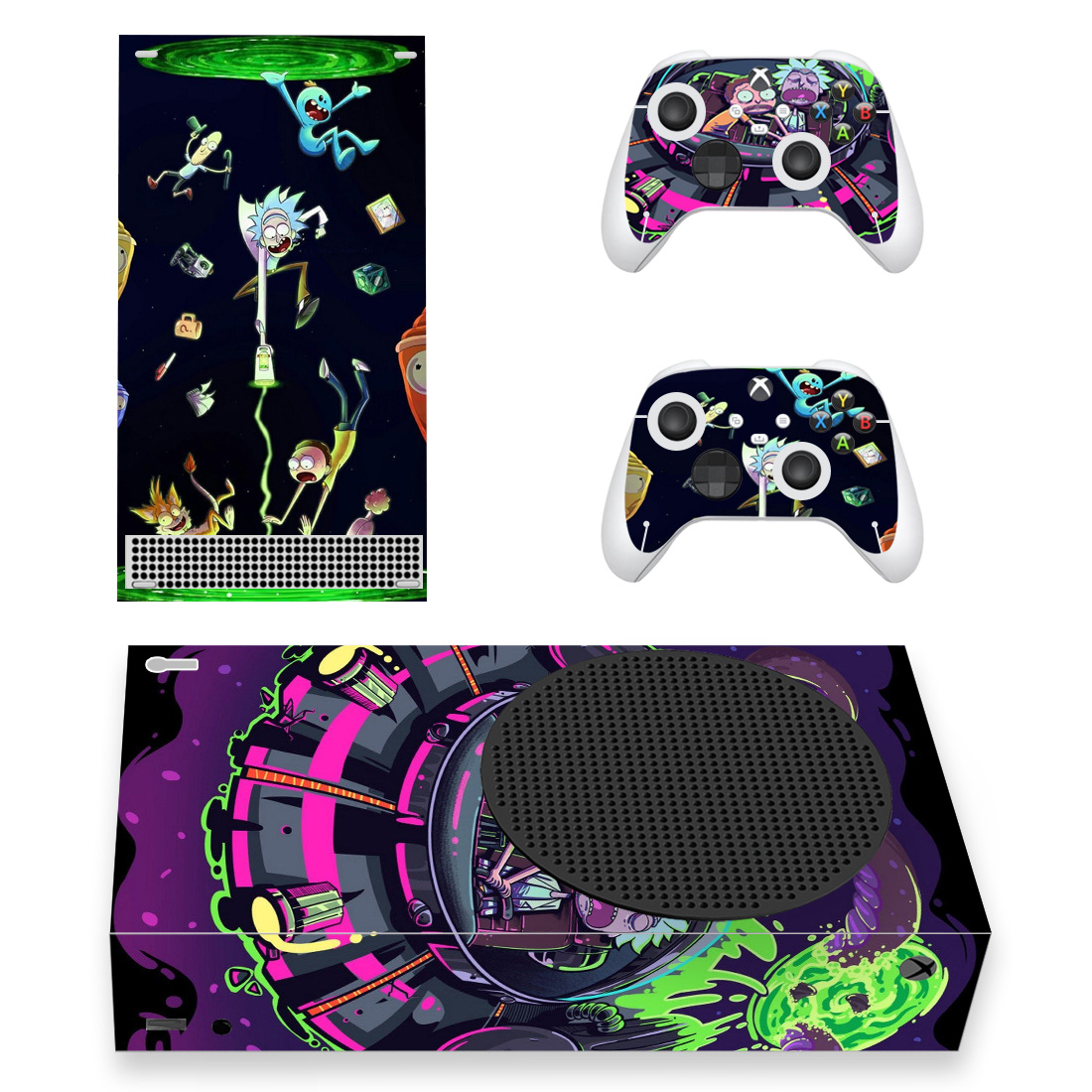 Rick And Morty Xbox Series S Skin Sticker Decal