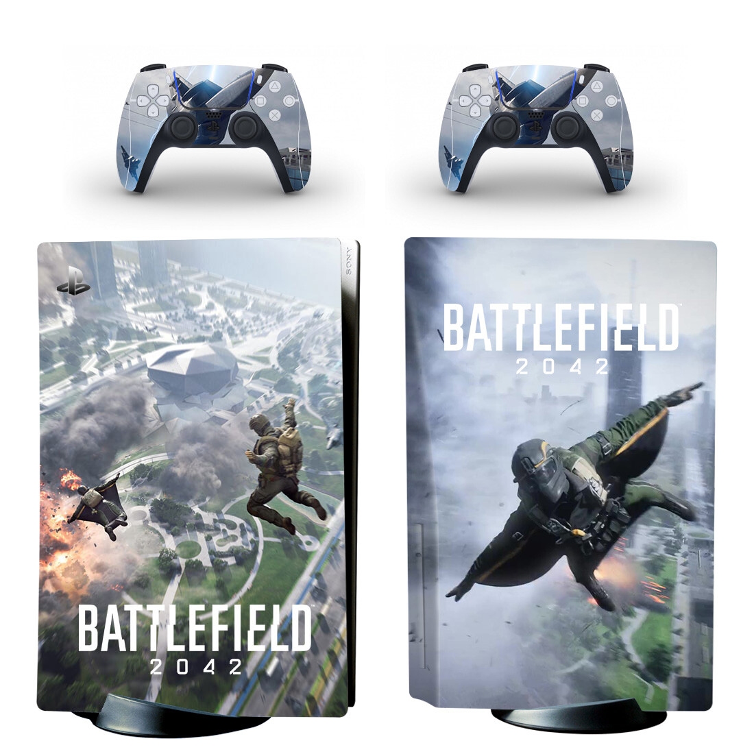 Battlefield 2042 Skin Sticker For PS5 Skin And Controllers
