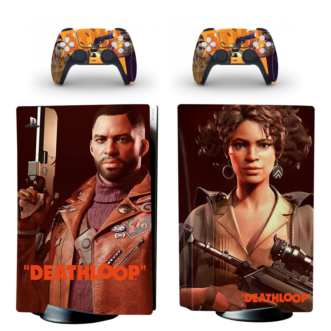 Deathloop Skin Sticker For PlayStation 5 And Controllers