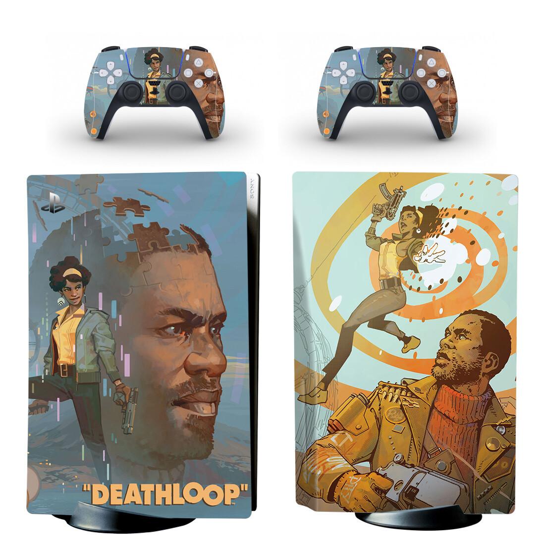 Deathloop PS5 Skin Sticker Decal