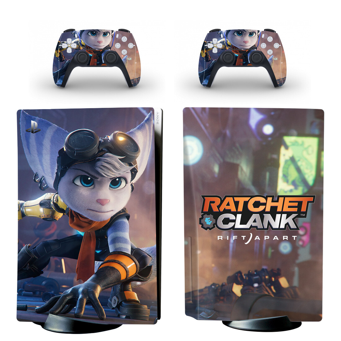 Ratchet And Clank Skin Sticker For PlayStation 5 And Controllers