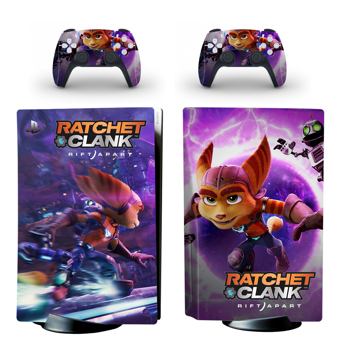 Ratchet And Clank Skin Sticker Decal For PlayStation 5
