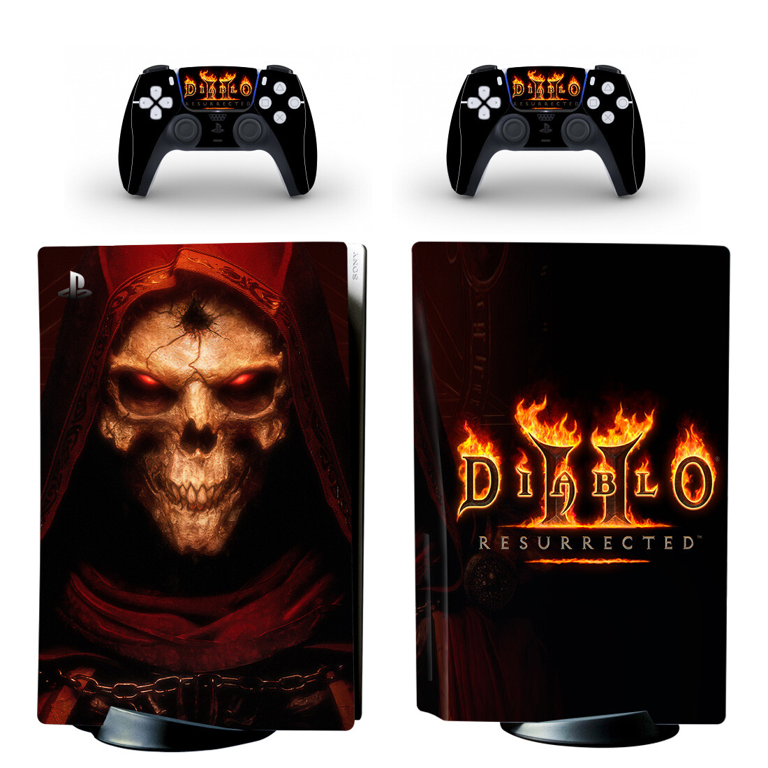 Diablo II Skin Sticker Decal For PlayStation 5