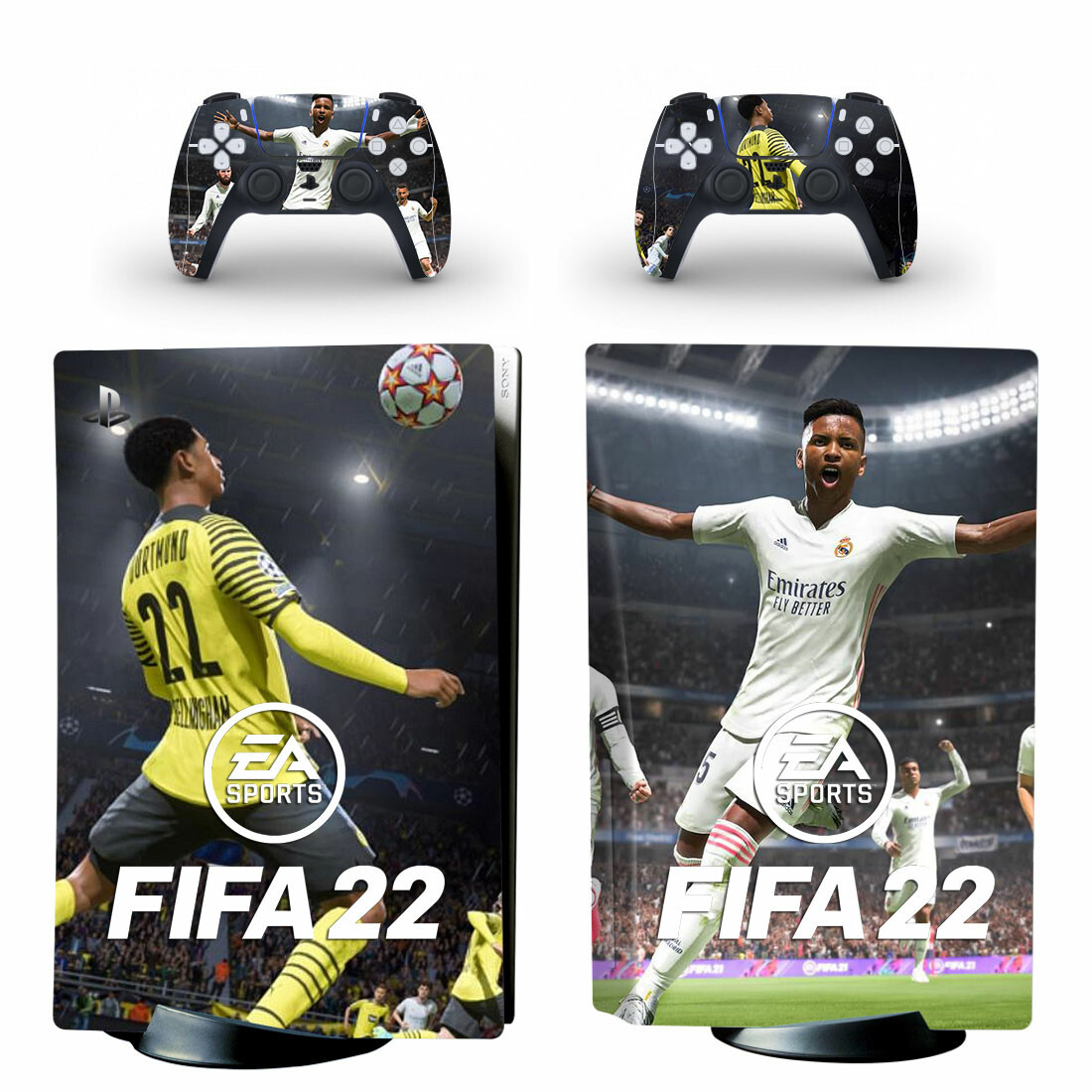 Fifa 22 Skin Sticker Decal For PlayStation 5