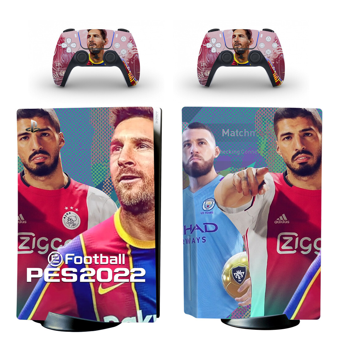 Football PES2022 Sticker Decal For PlayStation 5