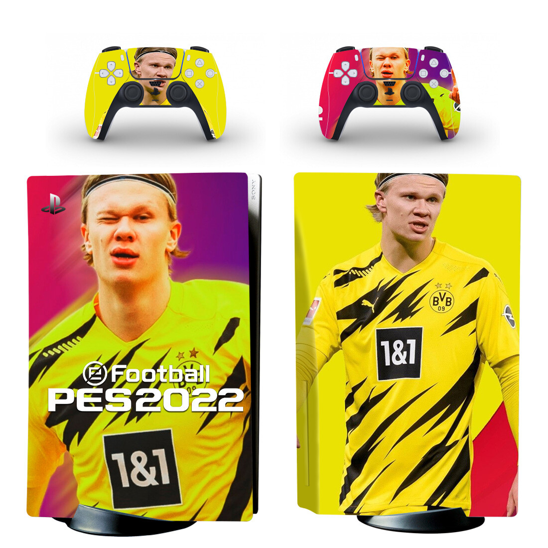 Football PES2022 Skin Sticker For PlayStation 5 And Controllers