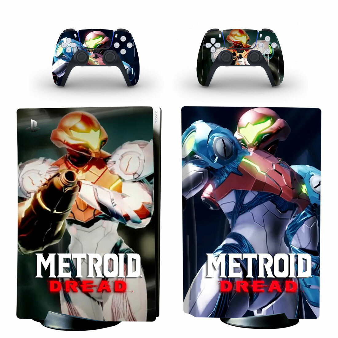 Metroid Dread Sticker Decal For PlayStation 5