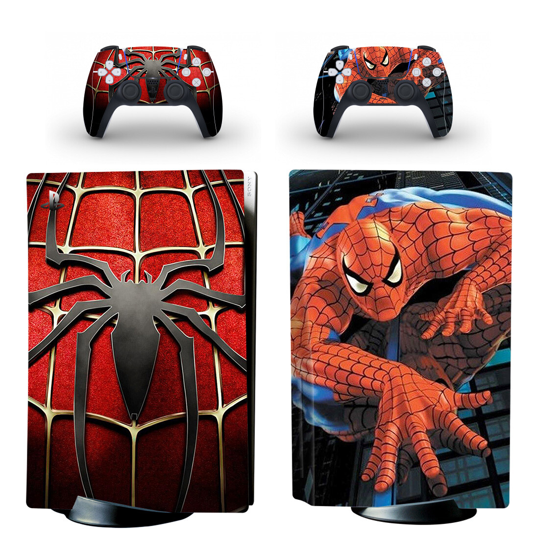 Spiderman Sticker Decal For PlayStation 5