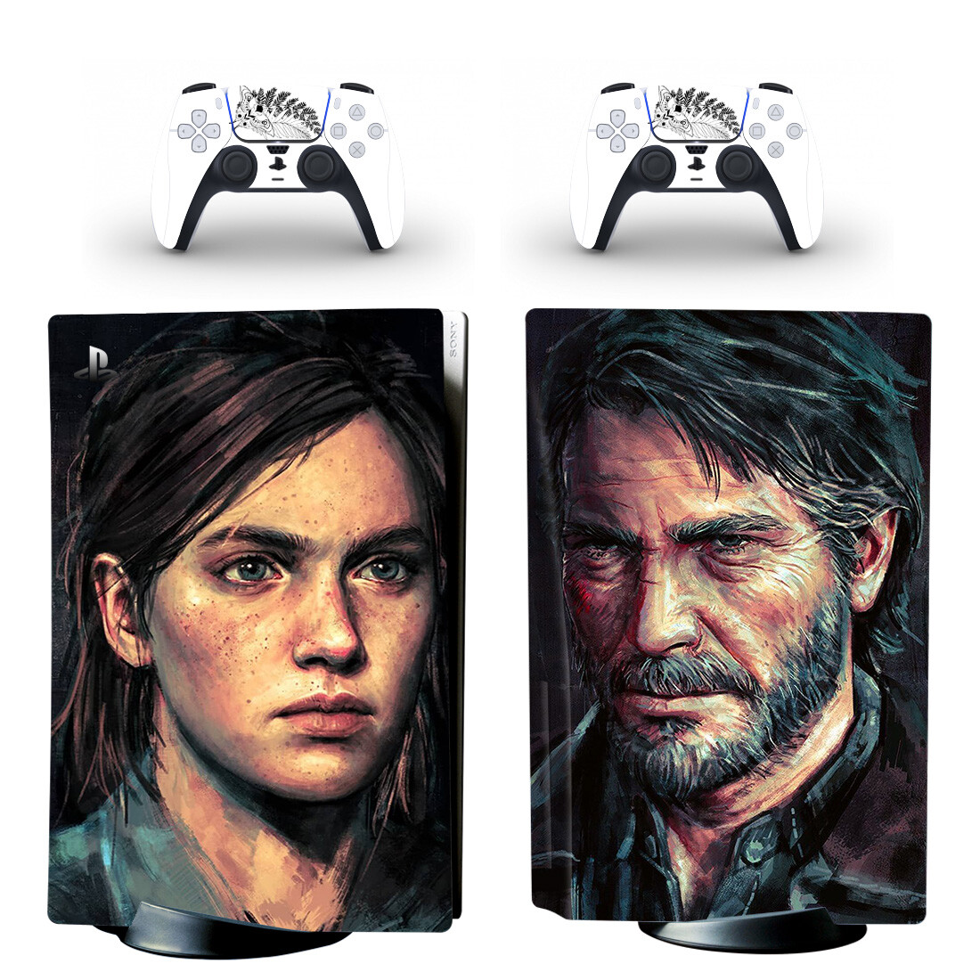 The Last Of Us 2 Sticker Decal For PlayStation 5