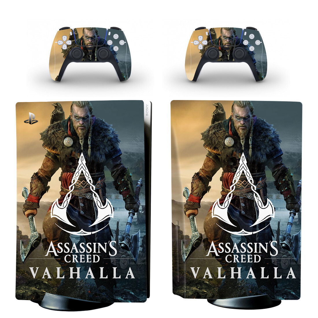 Valhalla Assassin's Creed Sticker Decal For PlayStation 5
