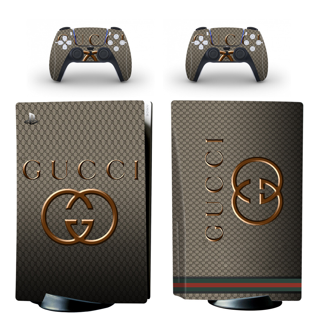 Gucci Skin Sticker Decal For PlayStation 5