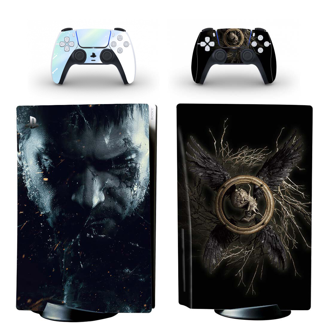 Resident Evil Village Skin Sticker For PlayStation 5 And Controllers