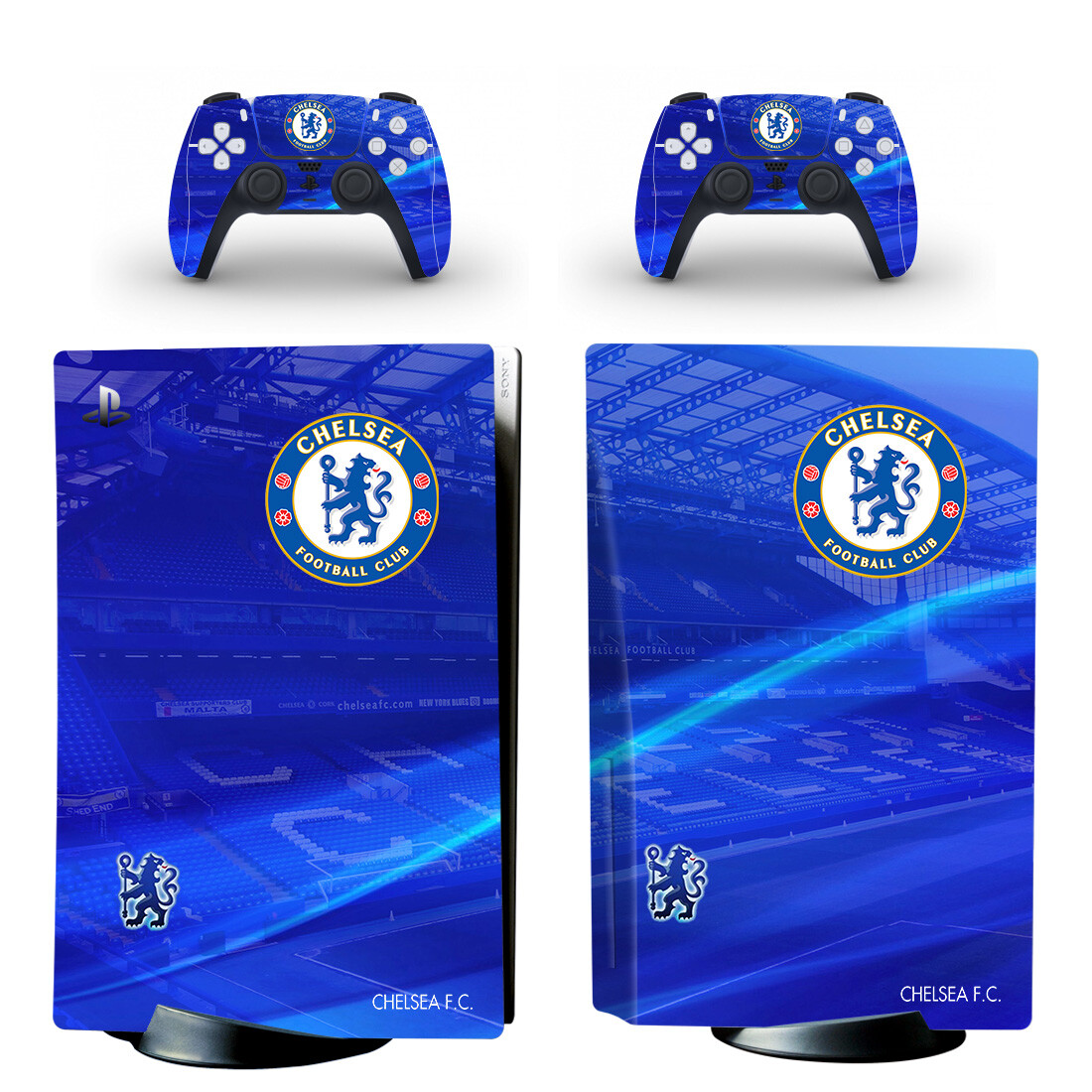 Chelsea Football Club Skin Sticker For PlayStation 5 And Controllers