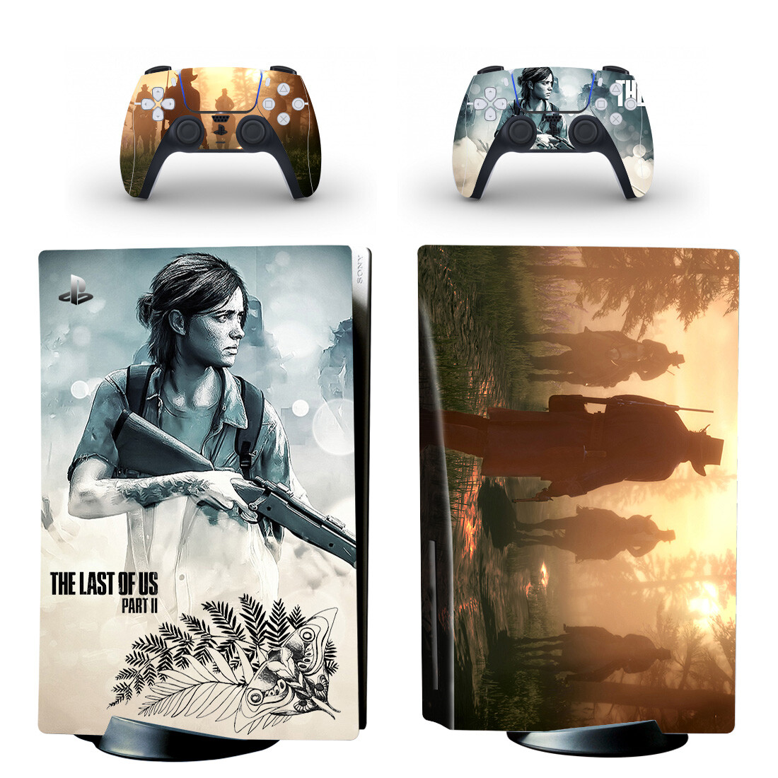 The Last Of Us Skin Sticker For PS5 Skin And Controllers