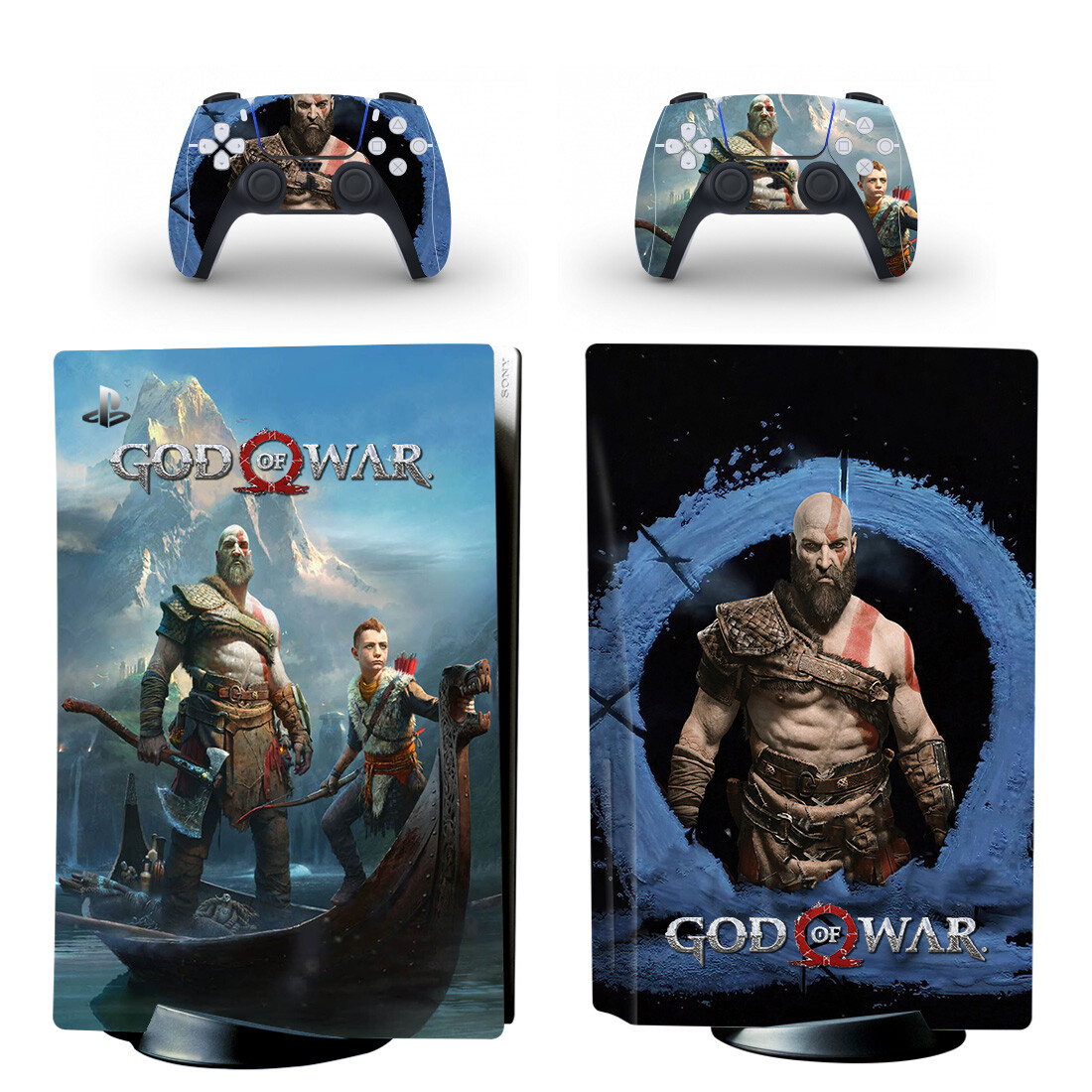 Go Of War Skin Sticker Decal For PlayStation 5