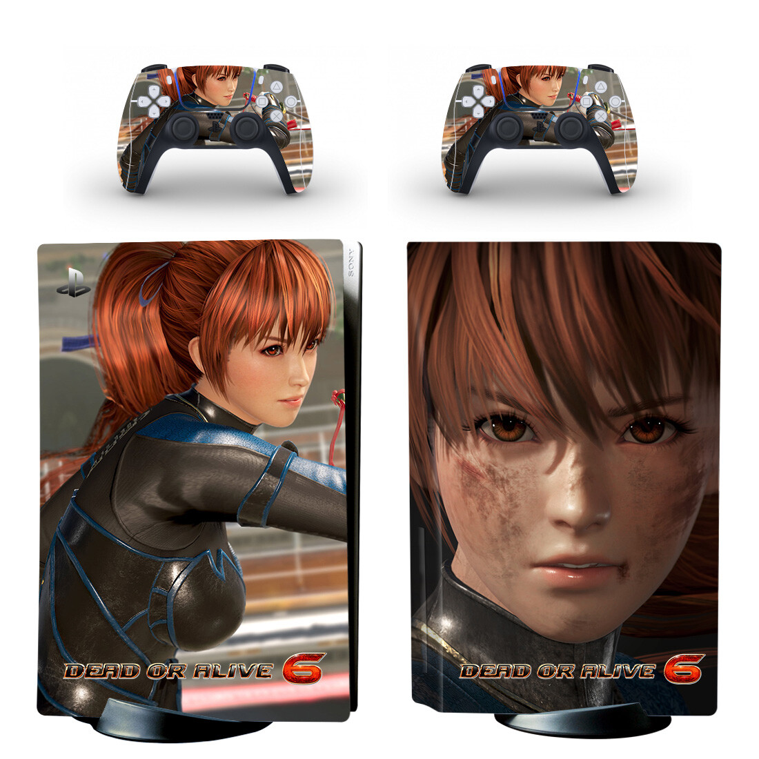 Dead Or Alive 6 Skin Sticker For PlayStation 5 And Controllers