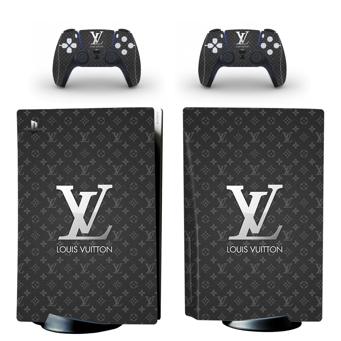 Louis Vuitton Skin Sticker For PlayStation 5 And Controllers