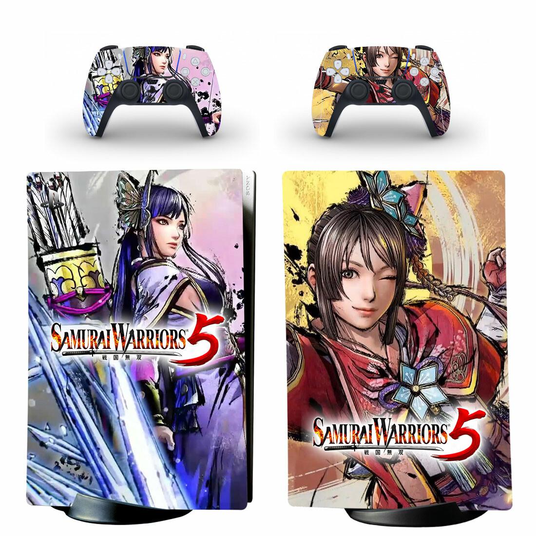 Samurai Warriors 5 PS5 Digital Edition Skin Sticker Decal