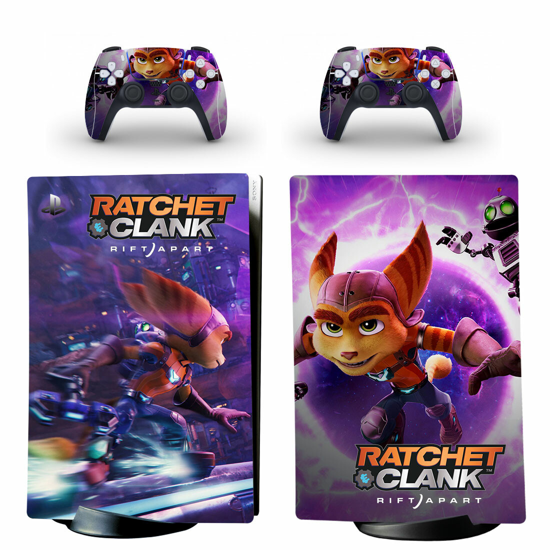 Ratchet And Clank PS5 Digital Edition Skin Sticker Decal