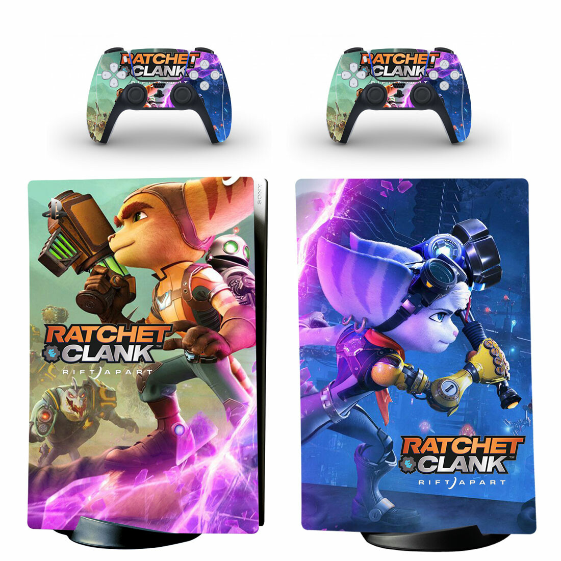 Ratchet And Clank Skin Sticker Decal For PS5 Digital Edition