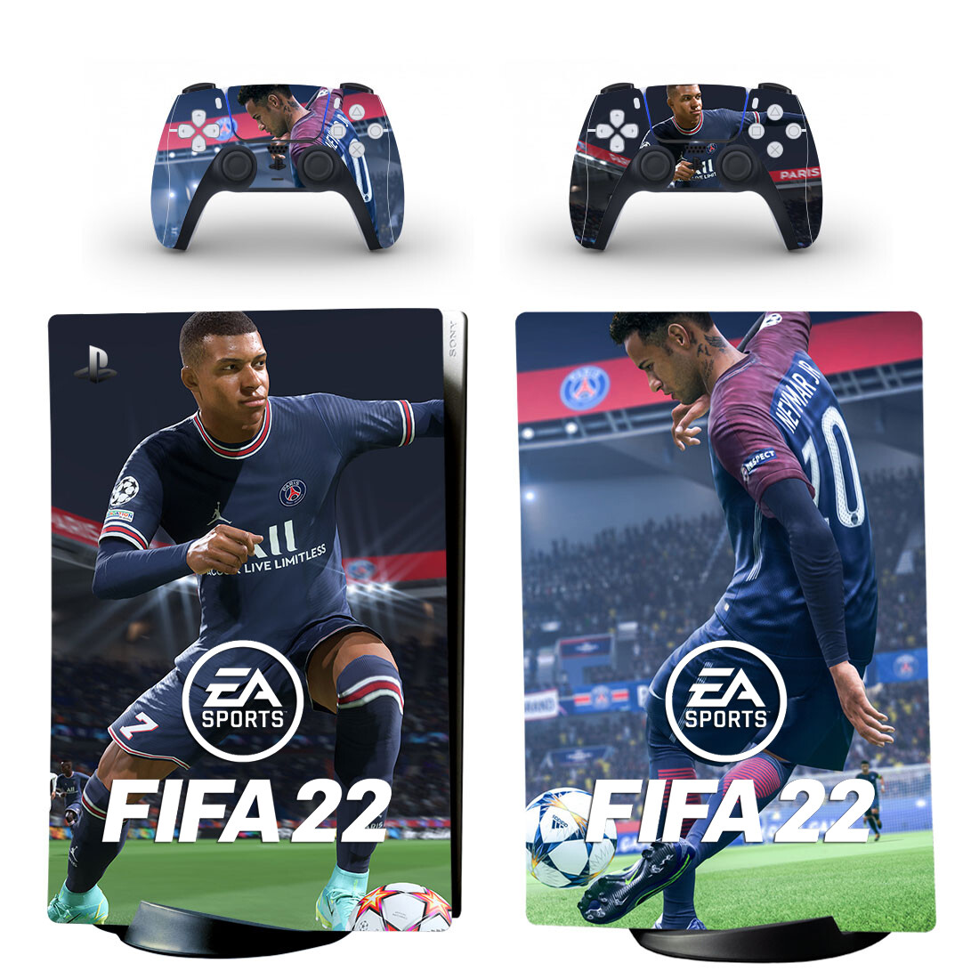 FIFA 22 Skin Sticker Decal For PS5 Digital Edition And Controllers