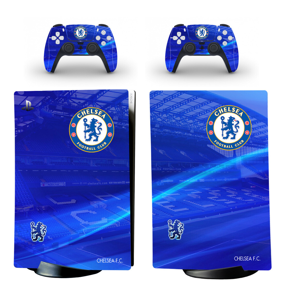 Chelsea Football Club Sticker Decal For PS5 Digital Edition And Controllers