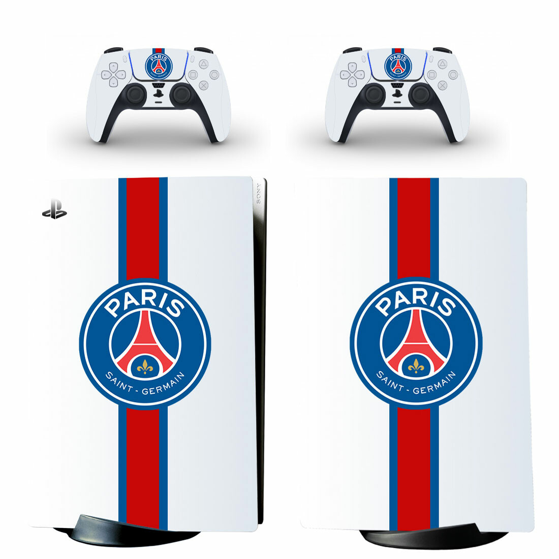 PSG Sticker Decal For PS5 Digital Edition And Controllers