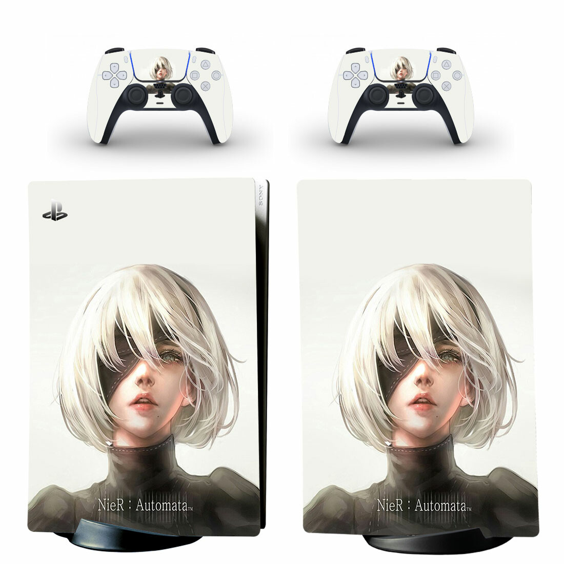 Nier Automata Skin Sticker Decal For PS5 Digital Edition And Controllers