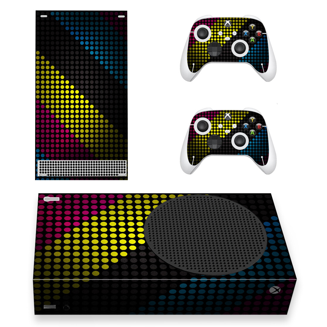 Full Screen HD Wallpapers Skin Sticker Decal For Xbox Series S