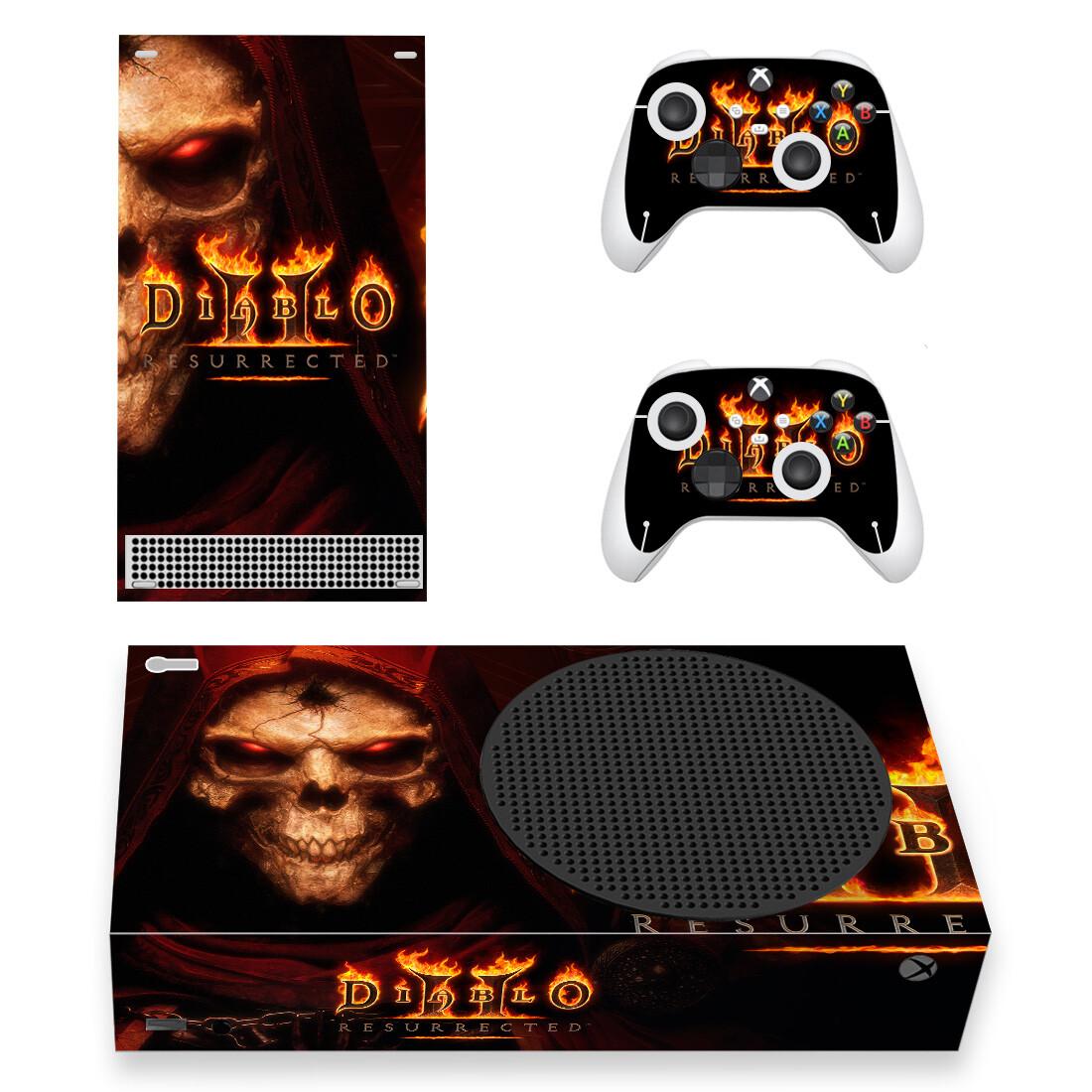 Diablo 2 Skin Sticker Decal For Xbox Series S