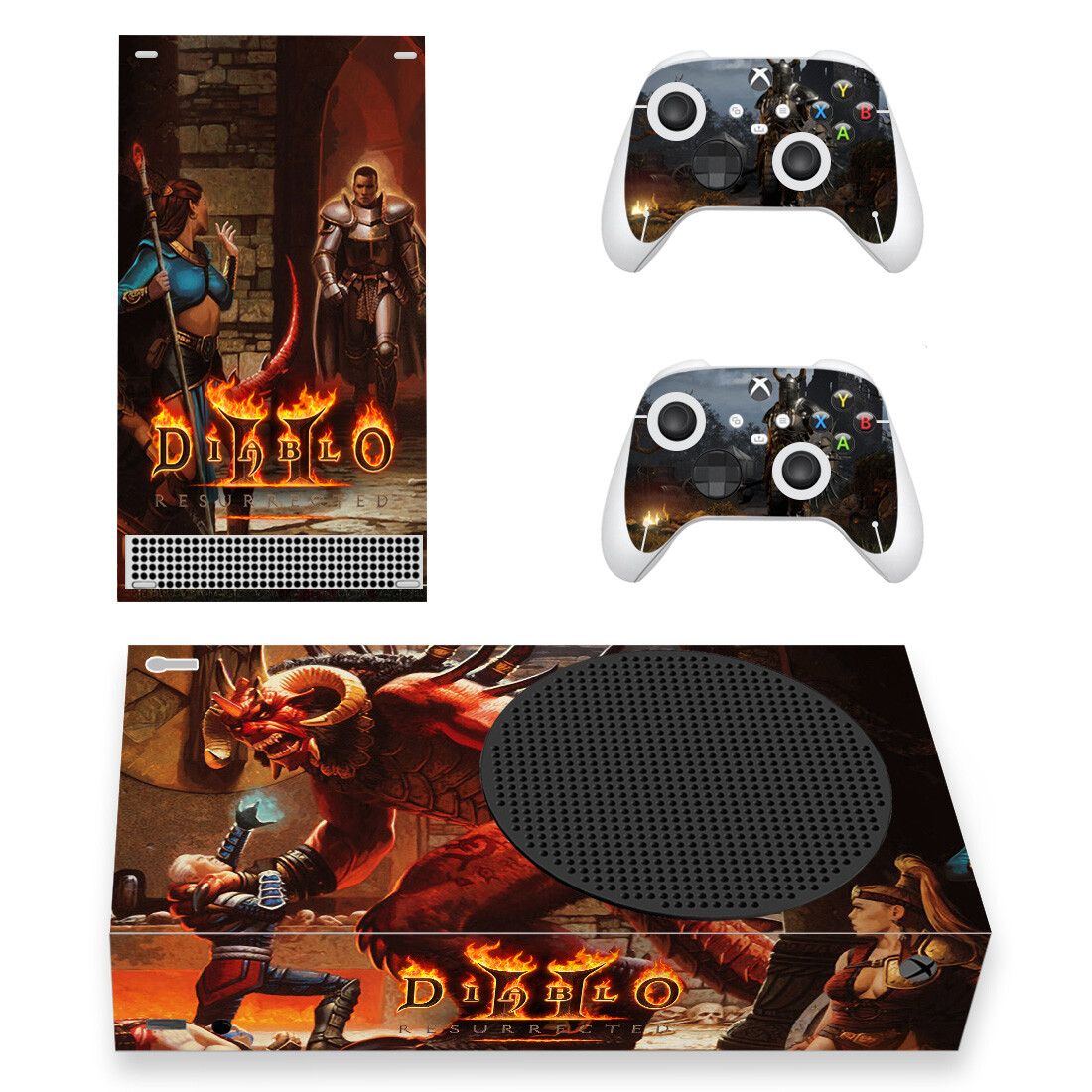 Diablo 2 Skin Sticker For Xbox Series S And Controllers